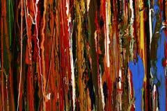 Abstrakcjonistyczna farba colours tło Obrazy Royalty Free