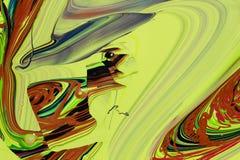 Abstrakcjonistyczna farba colours tło Zdjęcie Stock