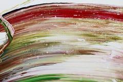 Abstrakcjonistyczna farba colours tło Zdjęcia Royalty Free