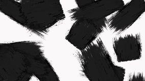 Abstrakcjonistyczna farby muśnięcia przemiana wyjawia z teksturą Alfa kanał - przezroczystość royalty ilustracja