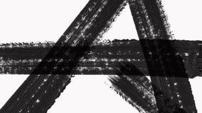 Abstrakcjonistyczna farby muśnięcia przemiana Wyjawia z teksturą Alfa kanału przezroczystość royalty ilustracja