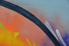 Abstrakcjonistyczna farby tła tekstura Obrazy Royalty Free