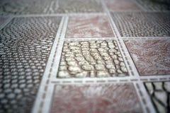 Abstrakcjonistyczna fotografia blisko tła papier się różne tekstury royalty ilustracja