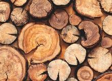 Abstrakcjonistyczna fotografia palowy naturalny drewniany beli tło obraz royalty free