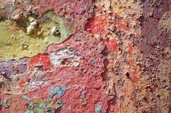 abstrakcjonistyczna fotografia rdza na metalu Zdjęcia Stock