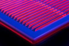 Abstrakcjonistyczna fotografia wentylaci grille Fotografia Stock