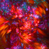 Abstrakcjonistyczna fractal ilustracja dla kreatywnie projekta Zdjęcie Royalty Free