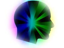 abstrakcjonistyczna głowa Obrazy Royalty Free