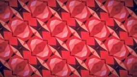 Abstrakcjonistyczna geometrii czerwieni tapeta Zdjęcie Royalty Free