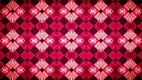 Abstrakcjonistyczna geometrii czerwieni tapeta Fotografia Royalty Free