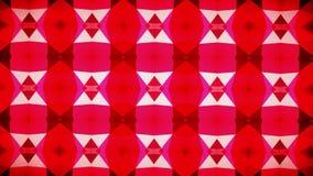 Abstrakcjonistyczna geometrii czerwieni tapeta Zdjęcia Royalty Free
