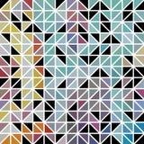 Abstrakcjonistyczna geometryczna barwiona trójbok siatka Obrazy Royalty Free
