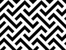 Abstrakcjonistyczna geometryczna bezszwowa wzór linia Zdjęcia Stock