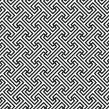 Abstrakcjonistyczna geometryczna bezszwowa wzór linia Obraz Stock