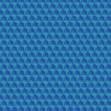 Abstrakcjonistyczna geometryczna bg błękitnego druku deseniowa sieć ilustracji