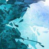 Abstrakcjonistyczna geometryczna ilustracja Zdjęcie Royalty Free