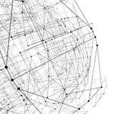 Abstrakcjonistyczna geometryczna poligonalna struktura Obrazy Royalty Free