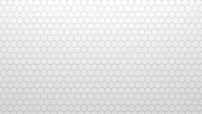 Abstrakcjonistyczna geometryczna tekstura przypadkowo wyrzuceni sześciokąty Obraz Royalty Free