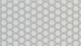 Abstrakcjonistyczna geometryczna tekstura przypadkowo wyrzuceni sześciokąty Fotografia Stock