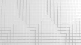 Abstrakcjonistyczna geometryczna tekstura przypadkowo wyrzuceni sześciany Obrazy Stock
