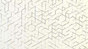 Abstrakcjonistyczna geometryczna tekstura przypadkowo wyrzuceni trójboki Obrazy Stock