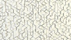 Abstrakcjonistyczna geometryczna tekstura przypadkowo wyrzuceni trójboki Fotografia Royalty Free