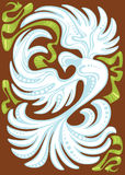abstrakcjonistyczna gołąbka Fotografia Stock