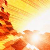abstrakcjonistyczna gorąca stal ilustracja wektor