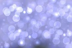 Abstrakcjonistyczna gradientowa fiołkowa purpurowa tło tekstura z zamazanym bokeh okrąża i zaświeca Przestrze? dla projekta Pi?kn ilustracji