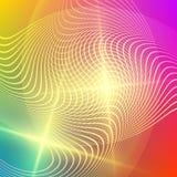 Abstrakcjonistyczna graficznego projekta tła światła plama lines13 Zdjęcia Stock