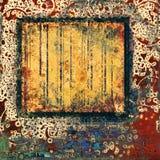 Abstrakcjonistyczna grunge rama Obraz Royalty Free