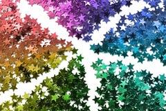 Abstrakcjonistyczna gwiazdy błyskotliwość zdjęcie royalty free