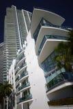 Abstrakcjonistyczna highrise architektura Obraz Stock