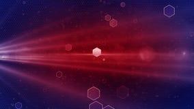 Abstrakcjonistyczna Honeycomb tła rewolucjonistka zdjęcie wideo