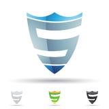 Abstrakcjonistyczna ikona dla listowego S Zdjęcie Stock