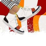 abstrakcjonistyczna ilustracja Obraz Royalty Free