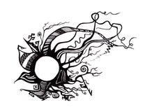 abstrakcjonistyczna ilustracja Zdjęcie Stock