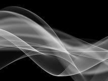 Abstrakcjonistyczna ilustracja falista bieżąca energia Obraz Stock