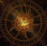 Abstrakcjonistyczna ilustracja fractal wybuch zdjęcia royalty free