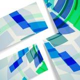 Abstrakcjonistyczna ilustracja, kolorowy skład. Fotografia Royalty Free