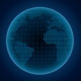 Abstrakcjonistyczna ilustracja kula ziemska Obraz Royalty Free