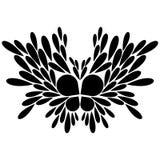 Abstrakcjonistyczna ilustracja motyl Zdjęcie Royalty Free