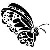 Abstrakcjonistyczna ilustracja motyl Obraz Stock