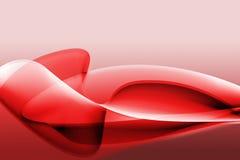 abstrakcjonistyczna ilustracyjna czerwień Zdjęcie Royalty Free