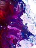 Abstrakcjonistyczna jaskrawa ręka malujący tło Zdjęcie Royalty Free