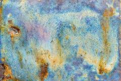 Abstrakcjonistyczna jaskrawa tekstura z rozwodami b??kitny, fio?kowy, nadziemski i piasek kolor, fotografia stock