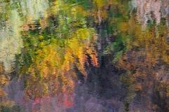 abstrakcjonistyczna jesień obraz royalty free