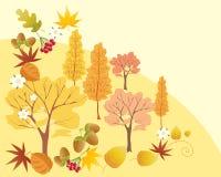 abstrakcjonistyczna jesień Obrazy Royalty Free