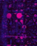Abstrakcjonistyczna kółkowa perspektywa w grafika stylu Zdjęcie Royalty Free