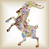 abstrakcjonistyczna kózka Zdjęcia Royalty Free